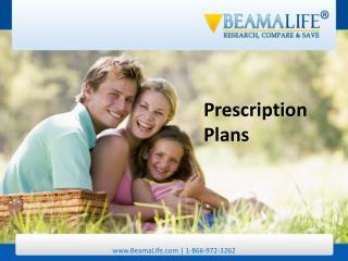 Prescription Plans