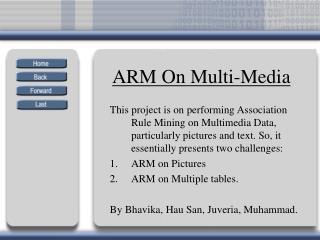ARM On Multi-Media