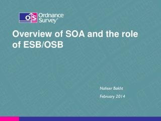 Overview of SOA and the role of ESB/OSB