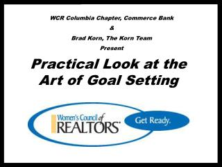WCR Columbia Chapter, Commerce Bank & Brad Korn, The Korn Team Present