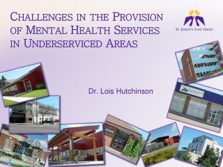 Challenges in the Provision of Mental Health Services in Underserviced Areas
