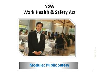 NSW Work Health  &  Safety Act