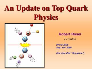 An Update on Top Quark Physics