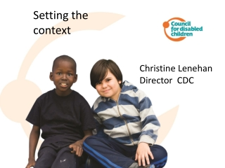 What Will it Take to Improve Outcomes for Young Children with Disabilities  Scaling-up the Use of Evidence Based Practic