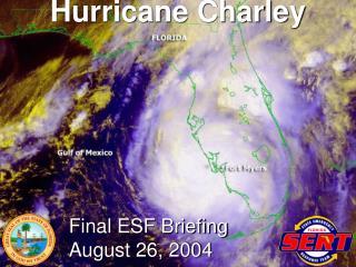 Final ESF Briefing August 26, 2004