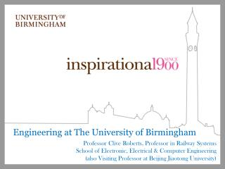 Engineering at The University of Birmingham