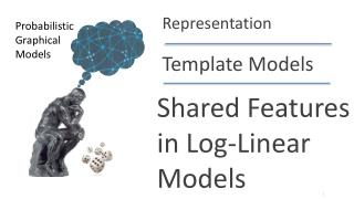 Shared Features in Log-Linear Models
