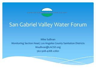 San Gabriel Valley Water Forum