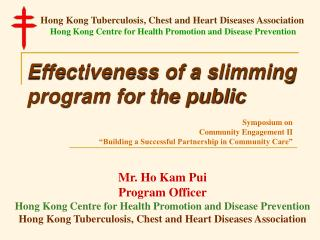 Effectiveness of a slimming program for the public