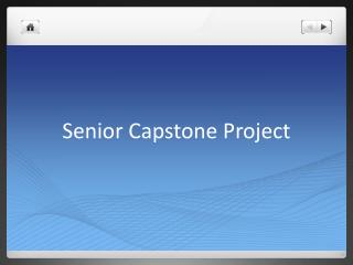 Senior Capstone Project