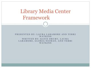 Library Media Center Framework