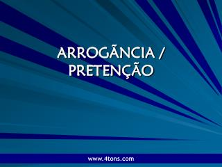 ARROG NCIA