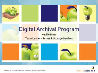 Digital Archival Program