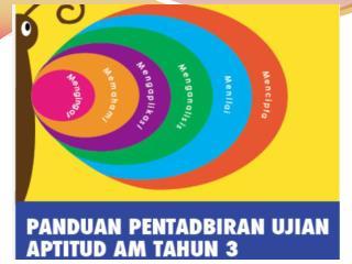 PENATARAN PENTADBIRAN UJIAN APTITUD AM TAHUN 3  SEKOLAH RENDAH 2014
