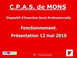 C.P.A.S. de MONS