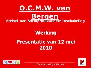 O.C.M.W. van Bergen
