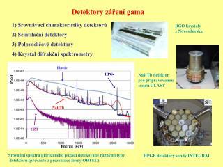 Detektory záření gama