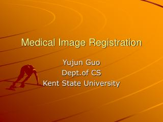 Medical Image Registration