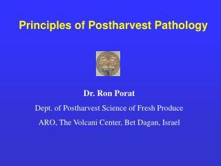 Principles of Postharvest Pathology