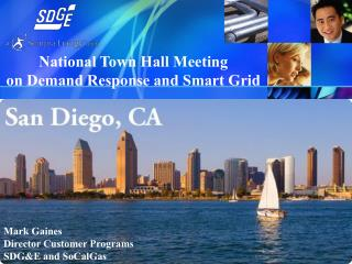 National Town Hall Meeting on Demand Response and Smart Grid