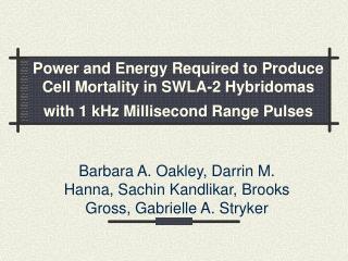 Barbara A. Oakley, Darrin M. Hanna, Sachin Kandlikar, Brooks Gross, Gabrielle A. Stryker