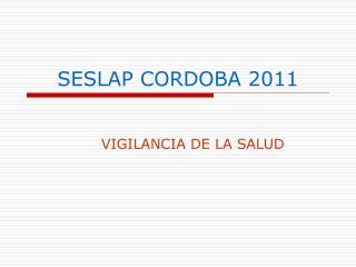 SESLAP CORDOBA 2011