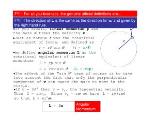 Topic 2.2 Extended H – Angular momentum