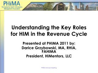Understanding the Key Roles for HIM in the Revenue Cycle