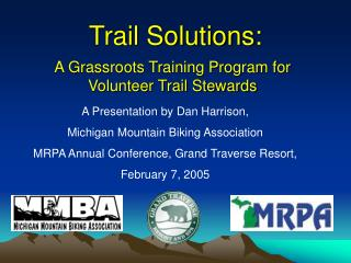 Trail Solutions: