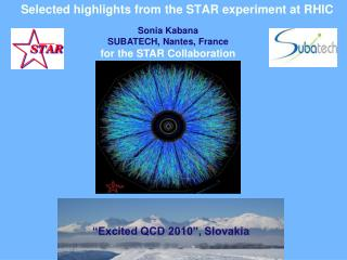 Selected highlights from the STAR experiment at RHIC