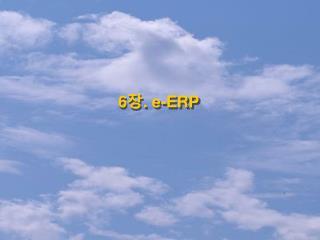 6 장 . e-ERP