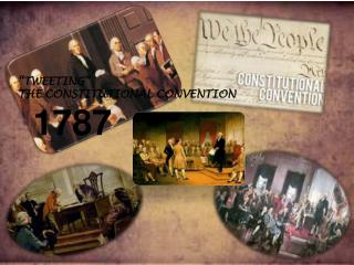 """TWEETING""  THE CONSTITUTIONAL CONVENTION"