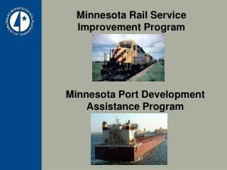 Minnesota Rail Service Improvement Program