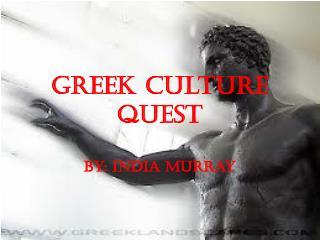 Greek Culture Quest