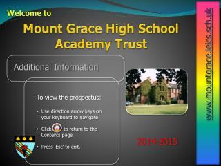 Mount Grace High School Academy Trust