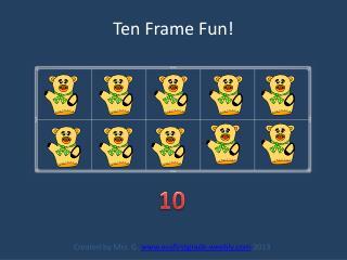 Ten Frame Fun!