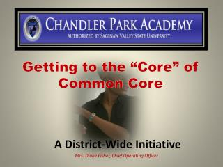"""Getting to the """"Core"""" of Common Core"""
