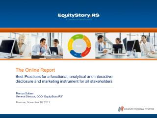 The Online Report Best Practices for a functional, analytical and interactive