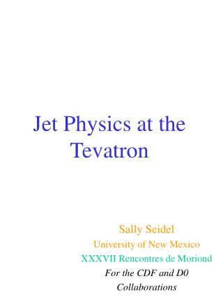 Jet Physics at the Tevatron