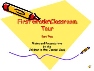 First Grade Classroom Tour Part Two