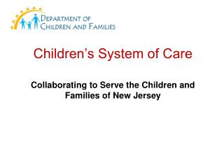 Children�s System of Care