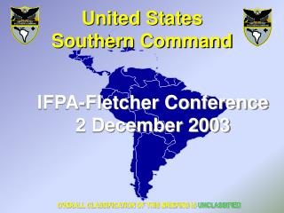 IFPA-Fletcher Conference 2 December 2003