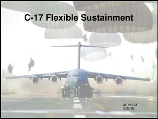 C-17 Flexible Sustainment