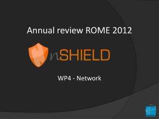 Annual review ROME 2012
