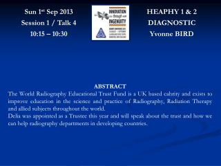 HEAPHY 1 & 2 DIAGNOSTIC Yvonne BIRD