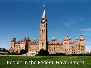 People in the Federal Government