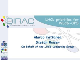 LHCb priorities for WLCG-OPS