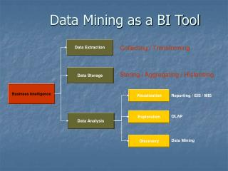 Data Mining as a BI Tool