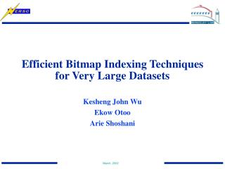 Efficient Bitmap Indexing Techniques for Very Large Datasets
