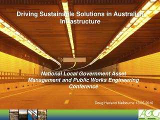 Driving Sustainable Solutions in Australian Infrastructure